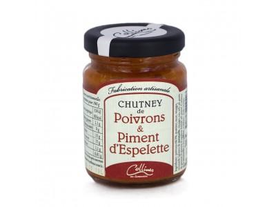 Chutneys de Poivrons & Piments d'espelette x6
