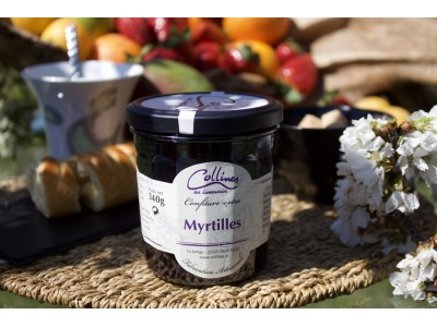 "Confiture ""Terroir"" - Myrtilles x6"