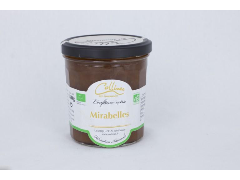Confiture BIO - Mirabelles