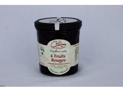 Confiture Terroir - 4 Fruits rouges